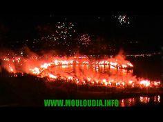 Craquage du 93ème anniversaire du club #Mouloudia d'Alger #MCA <3  07/08/2014