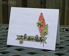 Created by Sarah M using brand new Stamptember Dies by Simon Says Stamp.