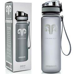 1. Embrava Premium Sports Water Bottle
