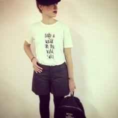 """take a walk on the WILD side""  #officina34 #retróscena #retroscena #tobewild #inspiration #loureed #instacool #instalove #instafashion #fashion #fashionable #fashiondiares #mm6 #maisonmargiela #goldie #london #outfit #trends #5preview #dbyd #dgnak #loveit #lookoftheday #look #picoftheday #tagsforlike"
