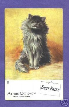Y1384 Louis Wain Cat Postcard First Prize Tuck 9540 | eBay