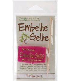 Scraperfect Embellie Gellie Tool - Pick Up Stick - for placing small / tiny  rhinestones, gems, etc with ease
