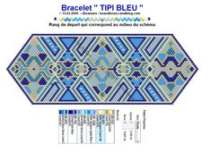 TIPI bleu by Disamare