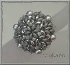 bague double starlight gris argent