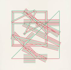 Kenneth Martin (1905‑1984) Chance and Order III 1971-2 Screenprint on paper 686 x 686 mm