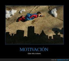 Este niño sí está motivado. Aportación de Jorge Fdez