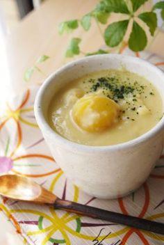 「簡単!栗きんとんde豆乳おしるこ」ayaka | お菓子・パンのレシピや作り方【corecle*コレクル】