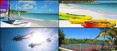 Many beach and land activities to do!