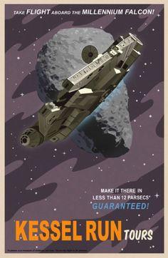 Die kultigsten Poster der Galaxis weit weit entfernt