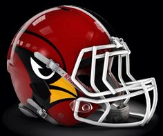Cardinals concept. Red