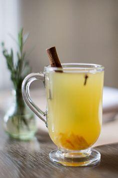 Orange Tea Toddy - Belvedere Lemon Tea, Orange Marmalade, Cinnamon Stick, Cloves. #wintercocktail