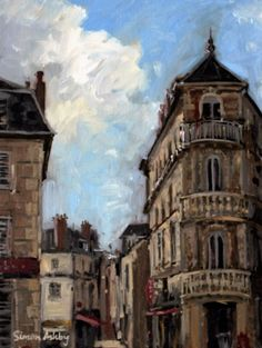 Brive, Architecture Architecture, France, Painting, Art, Arquitetura, Art Background, Painting Art, Kunst, Gcse Art