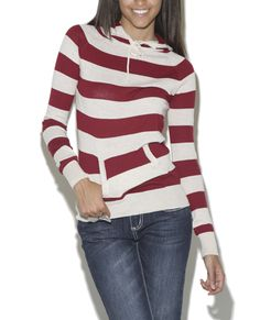 Cute striped hoodie