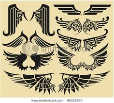tribal wings tattoo - Google Search