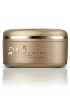 Wella Professionals LuxeOil Keratin Restore Mask - this treatment in the salon has revived my dry ends!!!