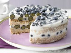 Mini-Blaubeertorte - smarter - Kalorien: 190 Kcal | Zeit: 120 min.