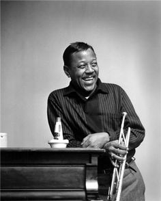 NO MUTE NECESSARY FOR THIS GUY... Roy Eldridge, jazz master