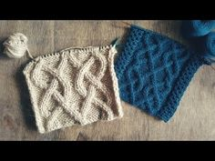 Узор АРАН №41 спицами. МК. Японские схемы. - YouTube Knitting Videos, Knitting Charts, Fingerless Gloves, Cable Knit, Arm Warmers, Bandana, Knitted Hats, Knit Crochet, Winter Hats