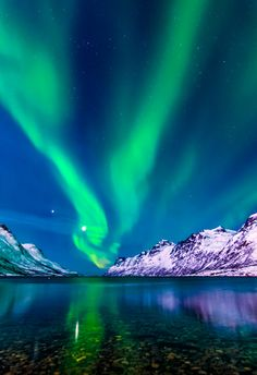 El baile de las auroras boreales o cómo vivir una noche 'fantasmal' polar