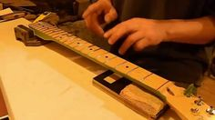 Guitar Fret Leveling Why and How - Part 1 of 2