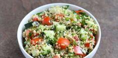 Ταμπουλέ: Η δροσερή σαλάτα από την Μέση Ανατολή! Αξίζει μία δοκιμή! Health Diet, Cooking Time, Cobb Salad, Rice, Food, Essen, Meals, Yemek, Laughter