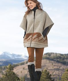 L.L.Bean Signature Pendleton Wool Cape - Made in the USA $349.00 (always free shipping!)
