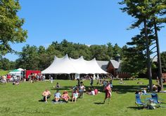 The Vermont Cheesemakers Festival at Shelburne Farms in Shelburne, Vermont