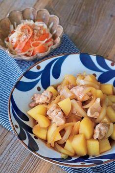 鶏肉で肉ジャガ風。レンジでチンして放置するだけで完成(ESSE-online) - Yahoo!ニュース Cantaloupe, Fruit, Recipes, Food, Recipies, Essen, Meals, Ripped Recipes, Yemek