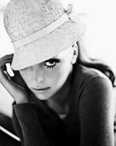Margit Brandt Autumn 2011, Model: Gertrud Hegelund, Photo: Signe Vilstru, via fashionising