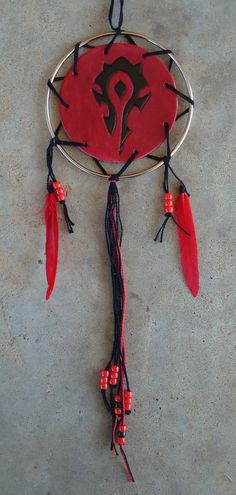 World of Warcraft Horde Dream Catcher  For the by StarsSpikes, $25.00