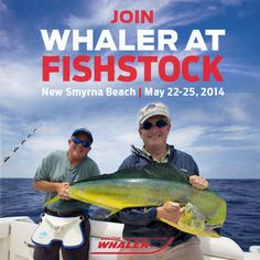 Get your rods and reels ready for this year's FishStock event! With inshore/offshore fishing tournaments, a 5K run and delicious food and drinks, you won't want to miss it. http://www.fishstock.com/