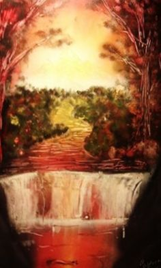 *October- Spray Painting by Beautiful Rendition: Customized Spray Paint Creations