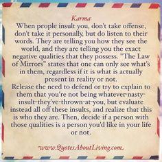 Karma & LawOfMirrors