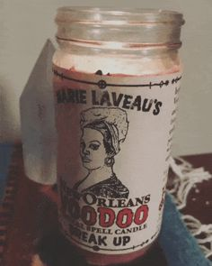 Marie Laveau-inspired candles designed to help remedy common problems, such as jinxes and confusion. 23 Witchy AF Products You'll Want To Buy ASAP Marie Laveau, Irish Wedding, Greek Wedding, Poison Apples, Vintage Gypsy, Unity Candle, Witch Aesthetic, Crystals, Santa Muerte