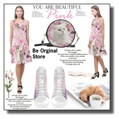 """""""Be original store 1"""" by ramiza-rotic ❤ liked on Polyvore featuring Love Quotes Scarves"""