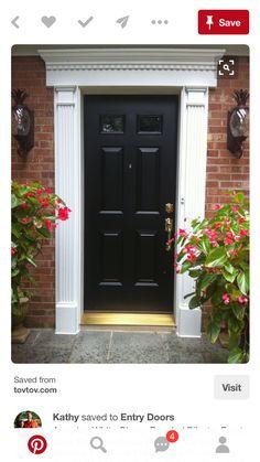 Merveilleux Front Door Molding, Front Doors, Entrance Doors, Front Entrances