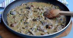 Polish Recipes, Polish Food, Cheeseburger Chowder, Potato Salad, Oatmeal, Recipies, Potatoes, Meat, Chicken