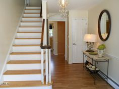 Staircase entry way