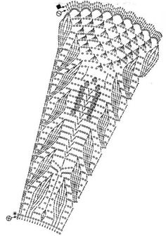 Abanico de crochet o ganchillo