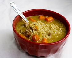Comforting Pork and Rice Soup - Savvy Eats