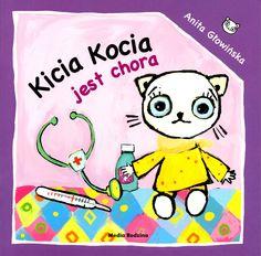 Kicia Kocia, bohaterka popularnej serii dla dzieci, jest chora. Boli ją nos, głowa i brzuszek. Musi iść do lekarza. Książeczka oswaja lęk dziecka przed wizytą u lekarza, pozwala zrozumieć czym jest choroba.