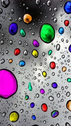 multi color water drops background to copy Cellphone Wallpaper, Galaxy Wallpaper, Mobile Wallpaper, Wallpaper Backgrounds, Gravure Illustration, Bubbles Wallpaper, Splash Photography, Macro Photography, Phone Backgrounds