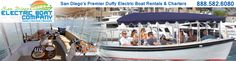 Electric Lounge boat rental / San Diego, CA