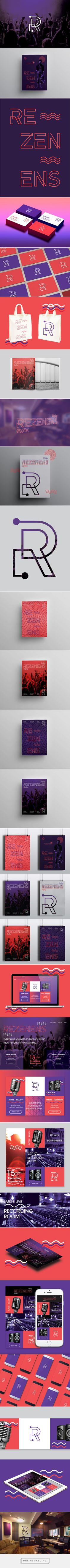 » REZENENS — Branding   Art Direction   Web Design on Behance - created via http://pinthemall.net