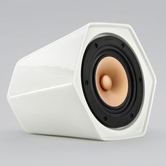Ceramic speakers replace buttons with orientation-sensitive controls