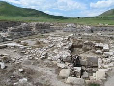 Tigranakert in present Nagorno Karabakh was established by the ancient Armenian ruler Tigranes the Great in the century BC. In 2006 an archaeological site was discovered next to Shahbulag Castle. 1st Century, Archaeological Site, The Republic, Ruler, Castle, Mountains, Travel, Voyage, Viajes