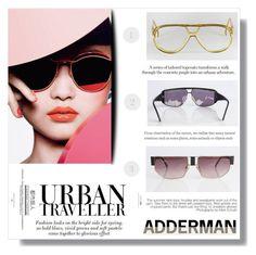 """shopadderman"" by fashion-pol ❤ liked on Polyvore"