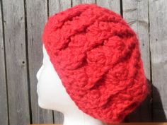 Chunky crochet beret you pick the color USA by CrochetByMel Crochet Beret, Chunky Crochet, Knitted Hats, Handmade Items, Handmade Gifts, Etsy Handmade, Winter Trends, Women's Accessories, Winter Hats
