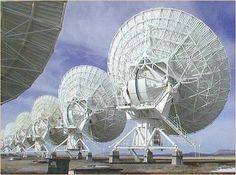 VLA radio telescopes