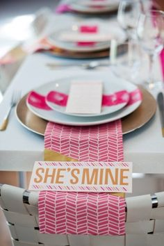 Pink and gold inspired wedding photo shoot by Rachel Peters Photography    Design by Modern Jane  Paper Products by Kim Roach Design